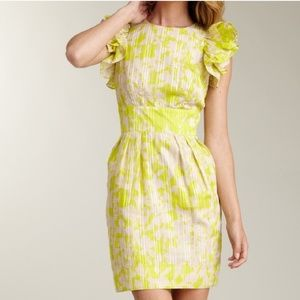 Jessica Simpson|Summer Dress with Ruffled Sleeves